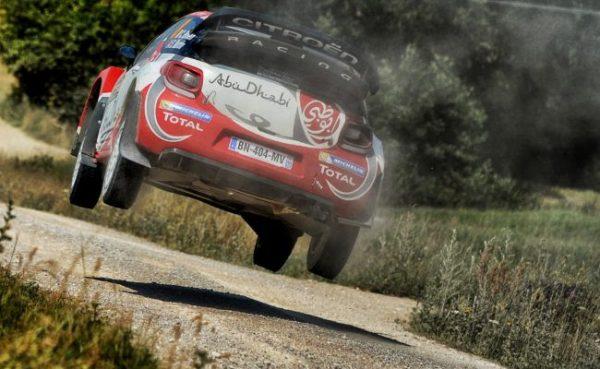 WRC 2016 FINLANDE - La DS3 CITROËN prete pour la bataille.