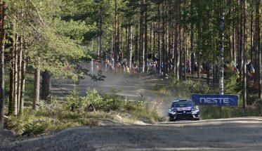 Andreas Mikkelsen (NOR), Anders Jæger (NOR) Volkswagen Polo R WRC (2016) WRC Rally Finland 2016