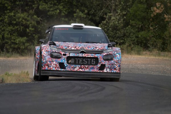 WRC 2016 - La future CITROEN en test sur asphalte