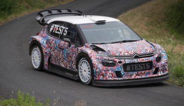 WRC 2016 - La future CITROEN en test sur asphalte -