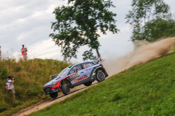 WRC 2016 POLOGNE La HYUNDAI I20WRC de HAYDEN PADDON