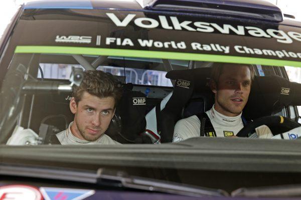 WRC 2016 POLOGNE La POLO VW WRC de MIKKELSEN -JAEGER