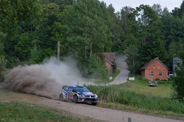 WRC 2016 POLOGNE La POLO VW WRC de SEB OGIER