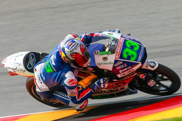 ENEA BASTIANINI EN POLE