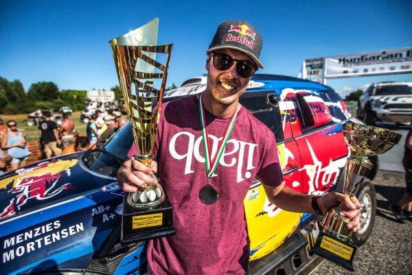 BAJA HONGRIE 2016 - Seconde place pour le pilote AMERICAIN BRYCE MENZIES avec une MINI X-Raid le 14 aout.j