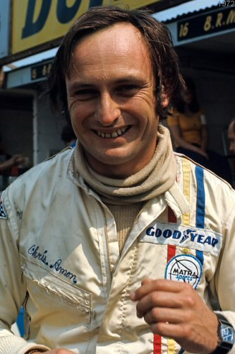CHRIS AMON chez MATRA en 1972