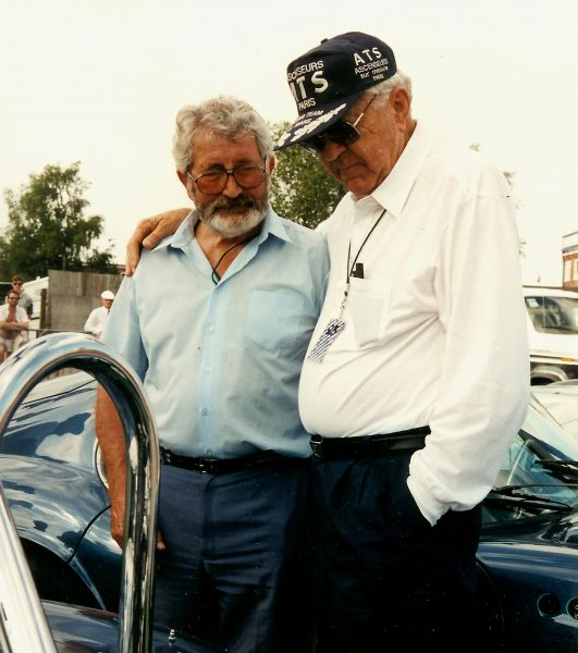 Carroll Shelby et John Tojeiro Silverstone 1995