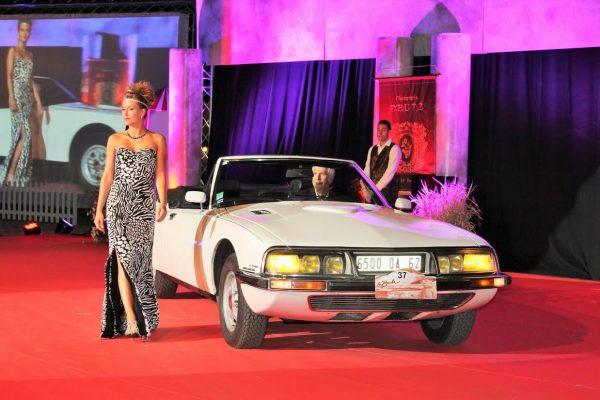 Concours de La Baule - Rarissime Citroên Maserati SM Cabbriolet -Photo Emmanuel LEROUX..