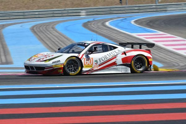 ELMS-2016-PAUL-RICARD-Dimanche-28-aout-La-FERRARI-F458-de-FORMULA-Racing-seconde-en-LMGTE-Photo-Nicolas-PALUDETTO.