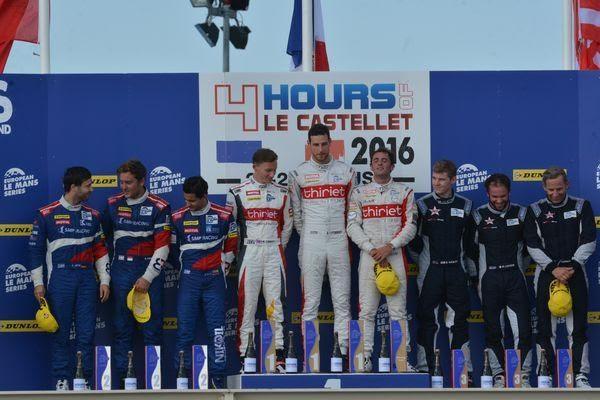 ELMS-2016-PAUL-RICARD-Dimanche-28-aout-Le-podium-avec-les-pilotes-victorieux-de-lORECA-05-de-léquipe-THIRIET-by-TDS-Photo-Nicolas-PALUDETTO-