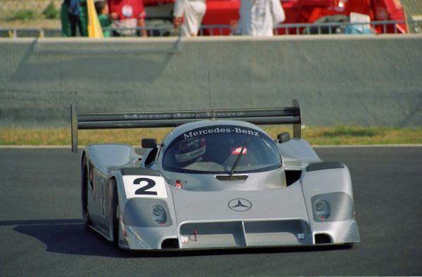 ENDURANCE - Michael Schumacher en 1991 au volant de la Mercedes Benz C 291-- © Manfred GIET.