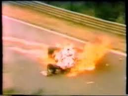 F1-1-AOUT-1976-La-FERRARI-de-LAUDA-en-feu-au-NURBURGRING