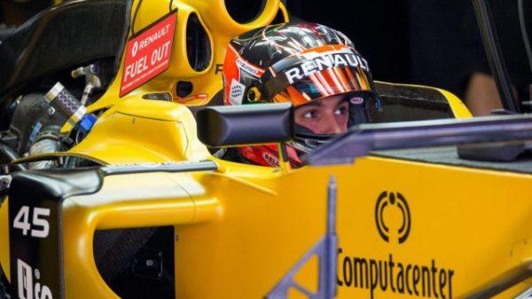 F1 2016 GP ESPAGNE -Esteban OCON au volant de la RENAULT F1