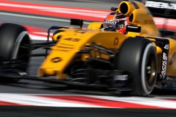F1 2016 GP ESPAGNE -Esteban OCON au volant de la RENAULT F1 lors des essais libres 1