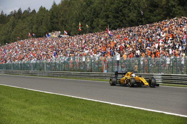F1 2016 SPA - KEVIN MAGNUSEN Equipe RENAULT