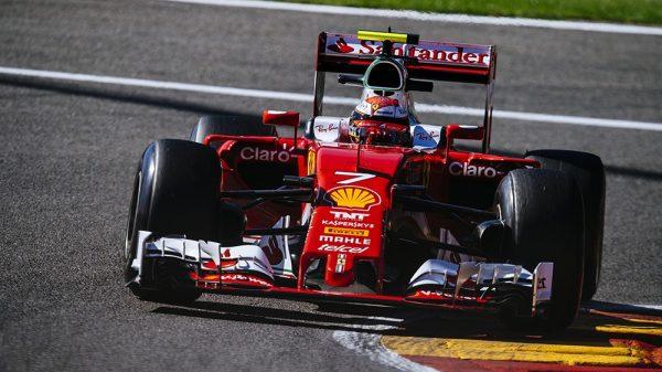 F1 2016 SPA - La FERRARI de KIMI RAIKKONEN