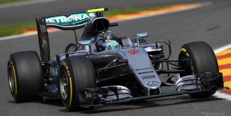 F1 2016 SPA-NICO ROSBERG -MERCEDES W07 -
