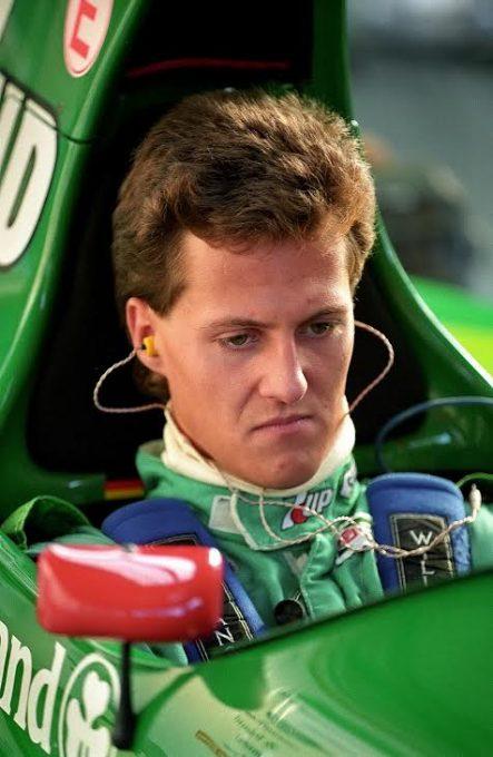 F1-25-aout-1991-1er-GP-pour-Michael-Schumacher-avec-le-Team-JORDAN-à-Spa-©-Manfred-GIET