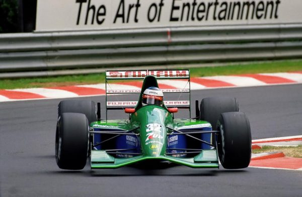 F1-25-aout-1991-1er-depart-en-GP-pour-Michael-Schumacher-a-SPA-au-GP-de-BELGIQUE-Photo-Manfred-GIET