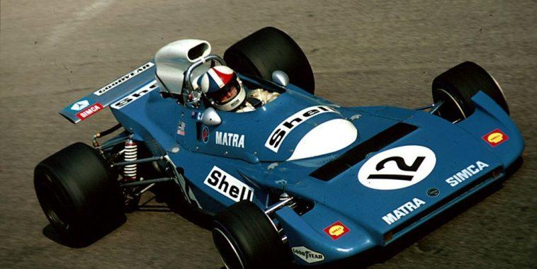 F1-GP-ITALIE-1971-CHRIS-AMON-au-volant-de-la-MATRA-V12