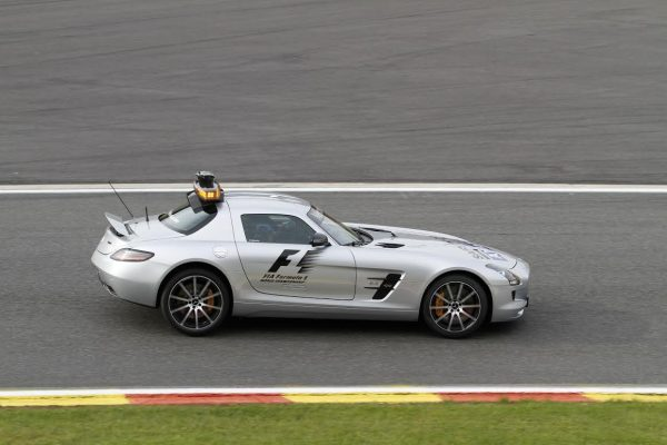 F1 - Safety Car 2014 une Mercedes AMG SLS-© Manfred GIET-