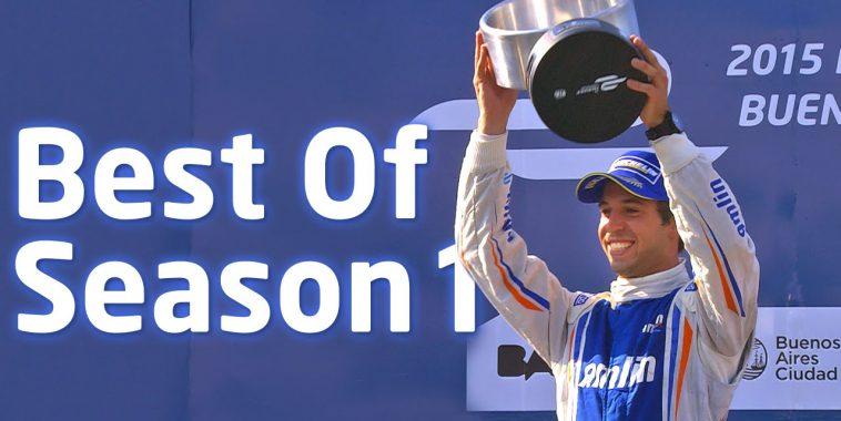 FORMULE E Janvier 2015  Victoire d'ANTONIO FELIX DA COSTA au GP de BUENOS AIRES