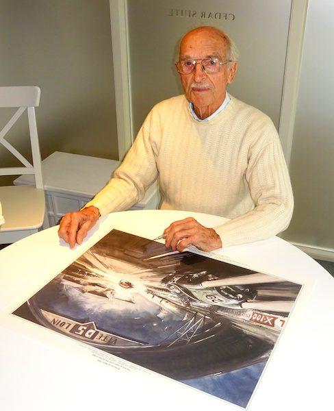 John Turner signe toutes les gravures