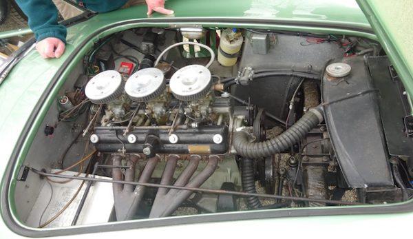Le Moteur de l'AC Bristol le Mans 1959