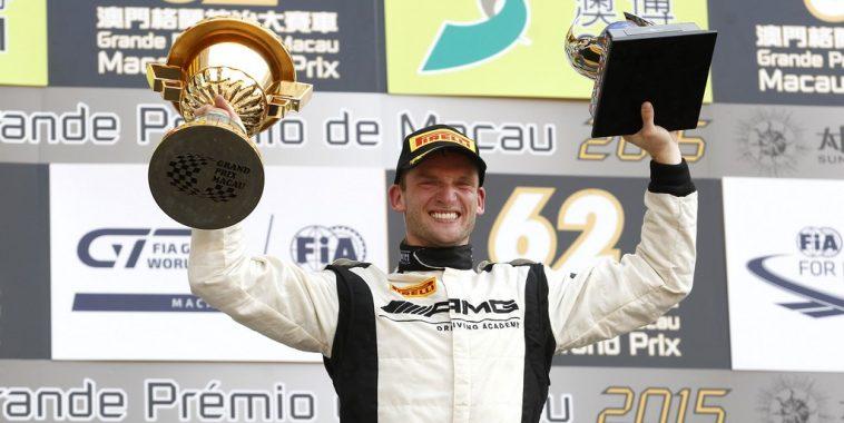 Maro Engel (GER) Mercedes AMG Driving Academy Mercedes–Benz SLS AMG GT3, FIA GT World Cup, Sunday, Macau (CHN) - 19. - 22. November 2015 *** Local Caption *** Copyright (c) FIA GT World Cup / Alexander Trienitz