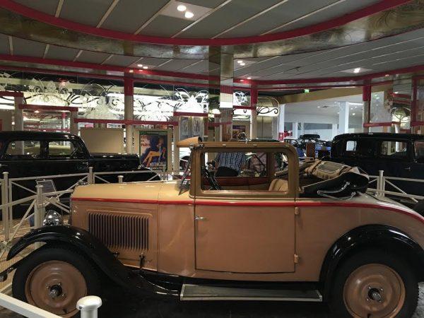 MUSEE AVENTURE PEUGEOT 201 - Cabriolet de 1930 - Photo Autonewsinfo.