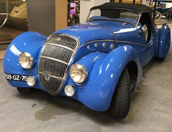 MUSEE AVENTURE PEUGEOT - 302 Darl'mat Sport - Roadster de 1937 -Photo Autonewsinfo