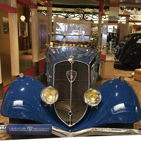 MUSEE AVENTURE PEUGEOT - 601 - Roadster de 1934 - Photo Autonewsinfo