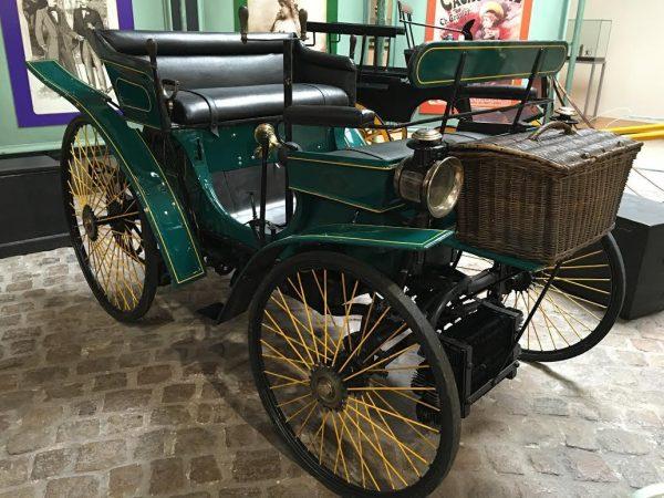 MUSEE AVENTURE PEUGEOT - Type 3 - a suivi course velo Paris-Brest-Paris en 1891