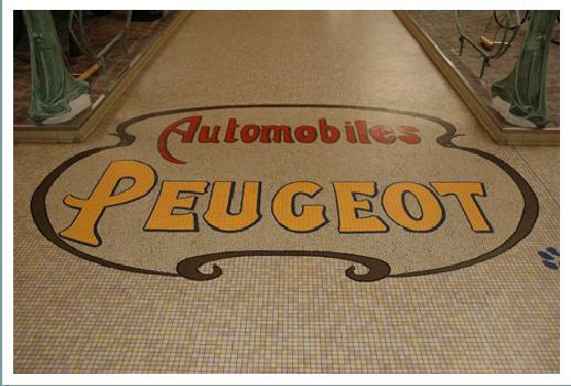 MUSEE PEUGEOT Mosaique Peugeot
