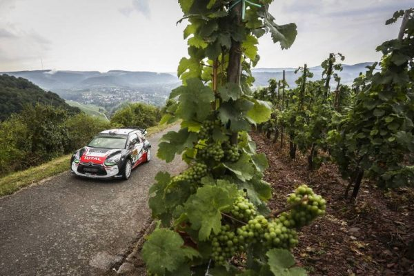 WRC 2016 -ALLEMAGNE - DS3 CITROEN de Stephane LEFEBVRE-.