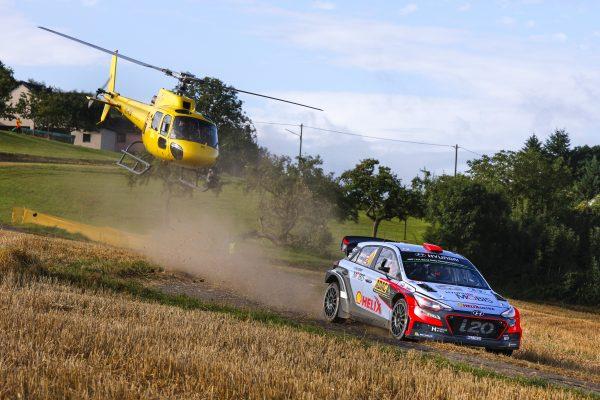 WRC 2016 - ALLEMAGNE -HYUNDAI i20WRC de DANI SORDO