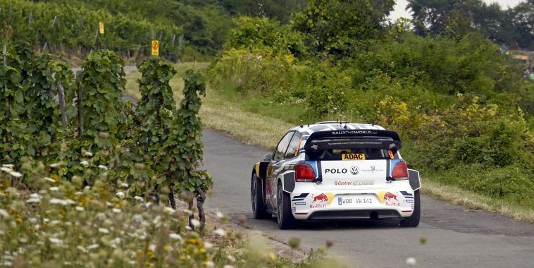 Andreas Mikkelsen (NOR), Anders Jæger (NOR) Volkswagen Polo R WRC (2016) WRC Rally Germany 2016