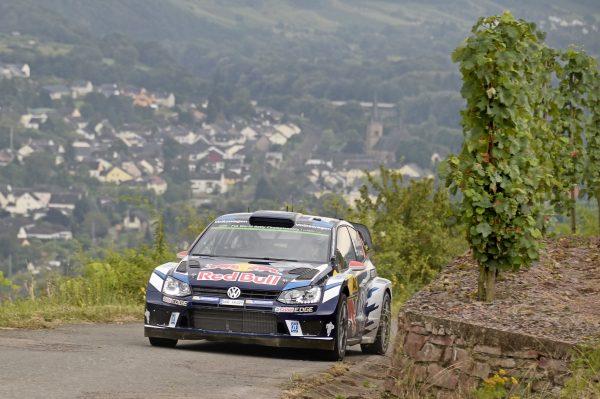 WRC 2016 ALLEMAGNE - La VW POLO WRC de JARI MATTI LATVALA.