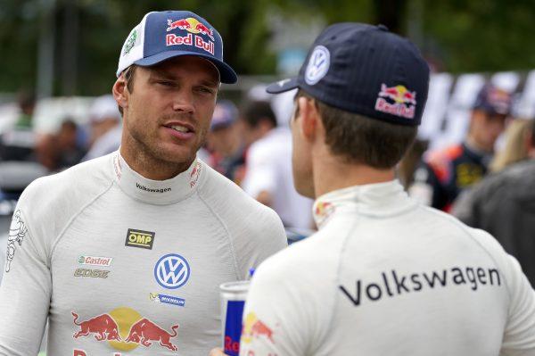 WRC 2016 ALLEMAGNE - SEB OGIER et ANDREAS MIKKELSEN.