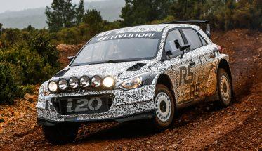 WRC 2016  - Premiers essais de la nouvelle HYUNDAI i20 R5