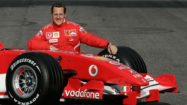 MICHAEL SCHUMACHER, 68 POLE EN F1