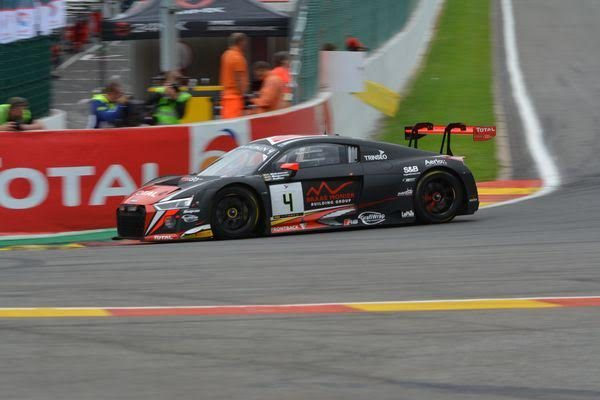 24 HEURES de SPA 2016 AUSI R8 LMS N°4 Team WRT - Photo Nicolas PALUDETTO