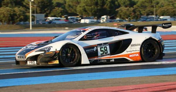 Blancpain 2016 Paul Ricard - Mc Laren 650 S GT du Team Garage 59 6 Photo Jean-FRançois THIRY.