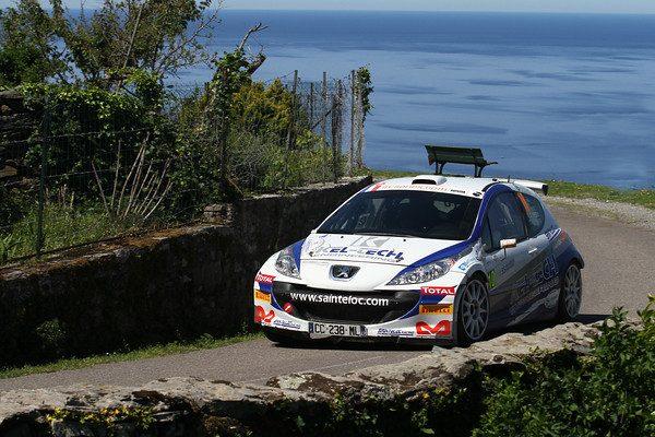 Tour de CORSE- 2012-La PEUGEOT 207 S2000de Craig BREEN
