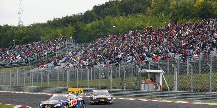 Motorsports: DTM race Budapest 2016,   #5 Mattias Ekstroem (SWE, Audi Sport Team Abt Sportsline, Audi RS 5 DTM),  #27 Adrien Tambay (FRA, Audi Sport Team Abt, Audi RS 5 DTM),  *** Local Caption *** +++ www.hoch-zwei.net +++ copyright: Juergen Tap / Hoch Zwei +++