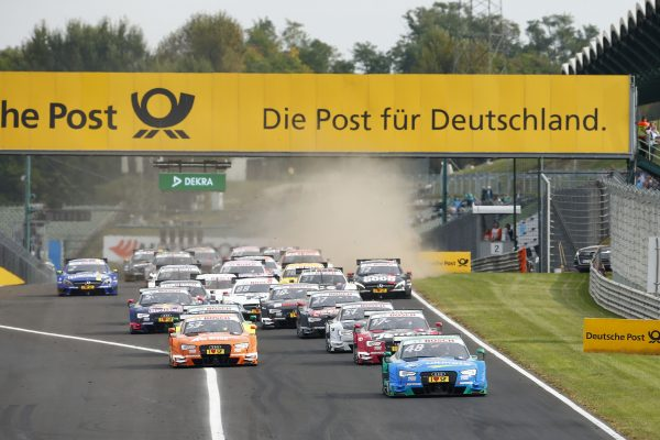 Motorsports: DTM race Budapest 2016,  Start *** Local Caption *** +++ www.hoch-zwei.net +++ copyright: Juergen Tap / Hoch Zwei +++