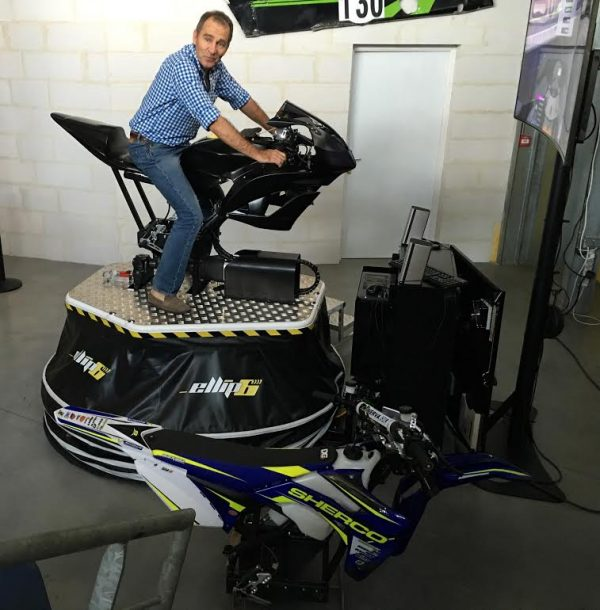 ELLIP6 - Le nouveau simulateur moto 8 axes