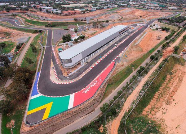 F1 2016 Le nouveau circuit de KYALAMI entiérement modernisé