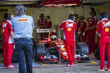 F1 2016 MONTMELO 7 Septembre Tests privés Pneus PIRELLI 2017 avec FERRARI et Sebastian VETTEL -