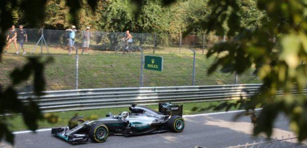 F1 2016 MONZA -La MERCEDES WO7 de LEWIS HAMILTON